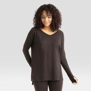 Wander by Hottotties Tops - Women's Thermoregulation Tunic - Black L